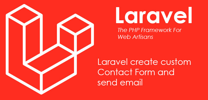 Laravel custom contact form