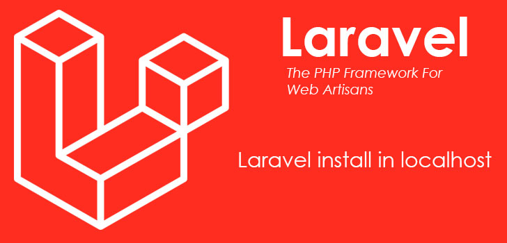 Laravel install in localhost XAMPP