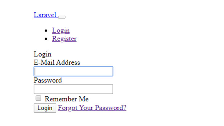 user authentication login