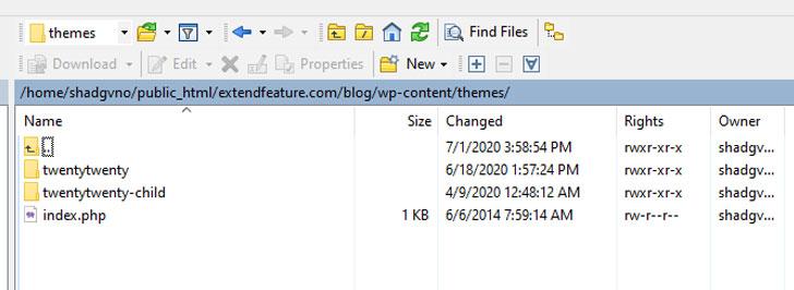 wordpress-create-child-theme-directory